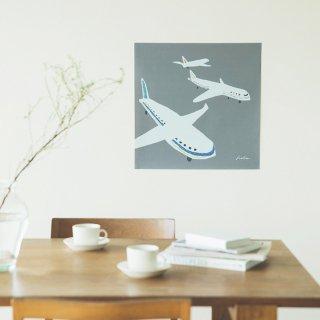ファブリックポスター:Take off(スズキカホ)