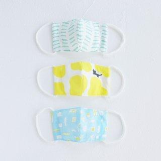 パターンファブリック:立体マスク(Sサイズ・キッズ)木波本陽子