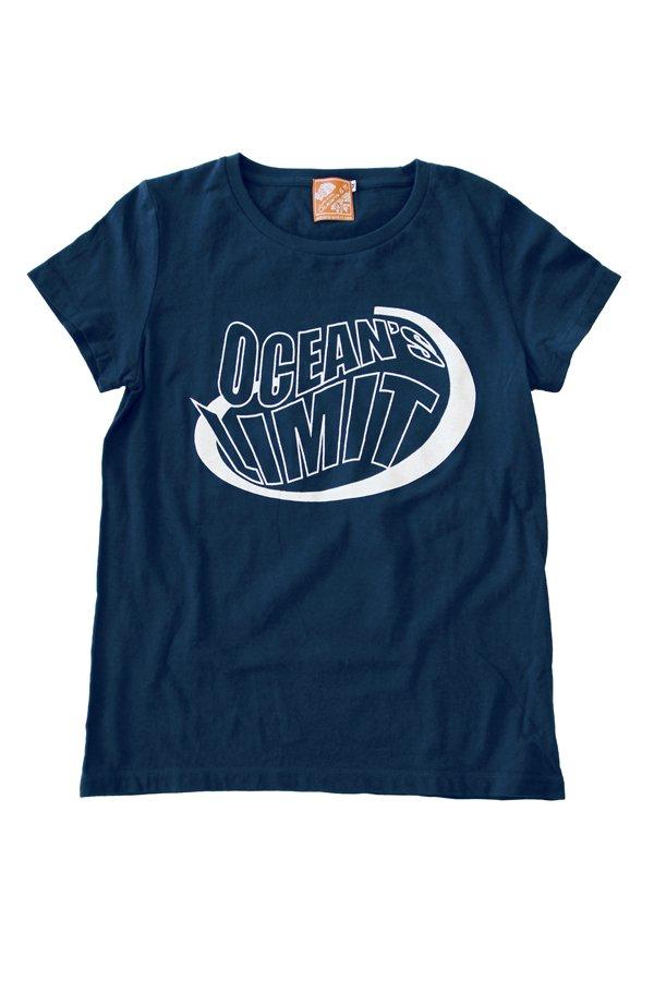 Ocean's & It Tシャツ(オーシャンズリミット・ネイビー)