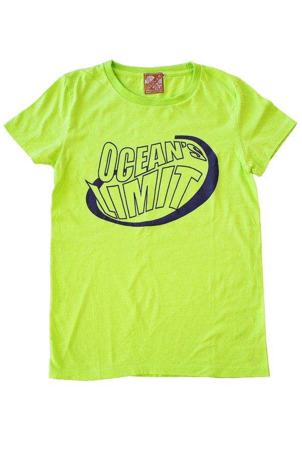 Ocean's & It Tシャツ(オーシャンズリミット・ライムグリーン)