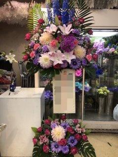 スタンド 青&ピンク系 2段
