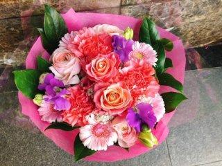 花束 ピンク系 ブーケ