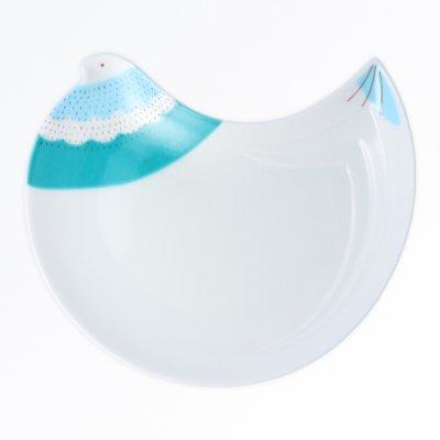 トリ皿[青]