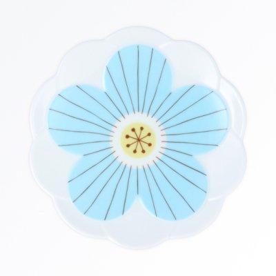 ハナ取り皿[青]