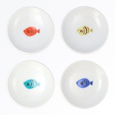 サカナ豆皿 4pcsセット