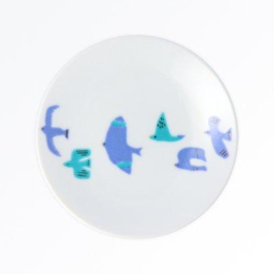 青い鳥 銘々皿