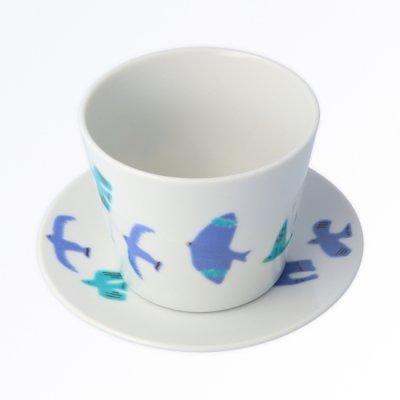 青い鳥 カップ&ソーサー
