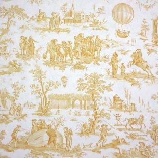 BALLON DE GONESSE - ゴネスの気球  平織り