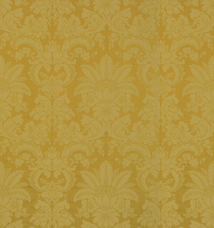 インテリアファブリック インテリアファブリック ルイ14世 シルクダマスクジャカード ル・ノートル イエロー - 133295835