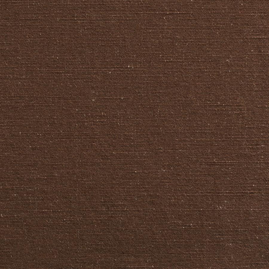インテリアファブリック インテリアファブリック コットンリネンドレープ無地  ビバーク ブラウン - 145339421