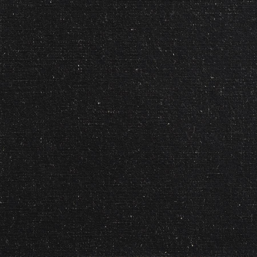 Antoine d'Albiousse (アントワーヌ・ダビュウス) インテリアファブリック コットンリネンドレープ無地  ビバーク ブラック - BIVOUAC ebene