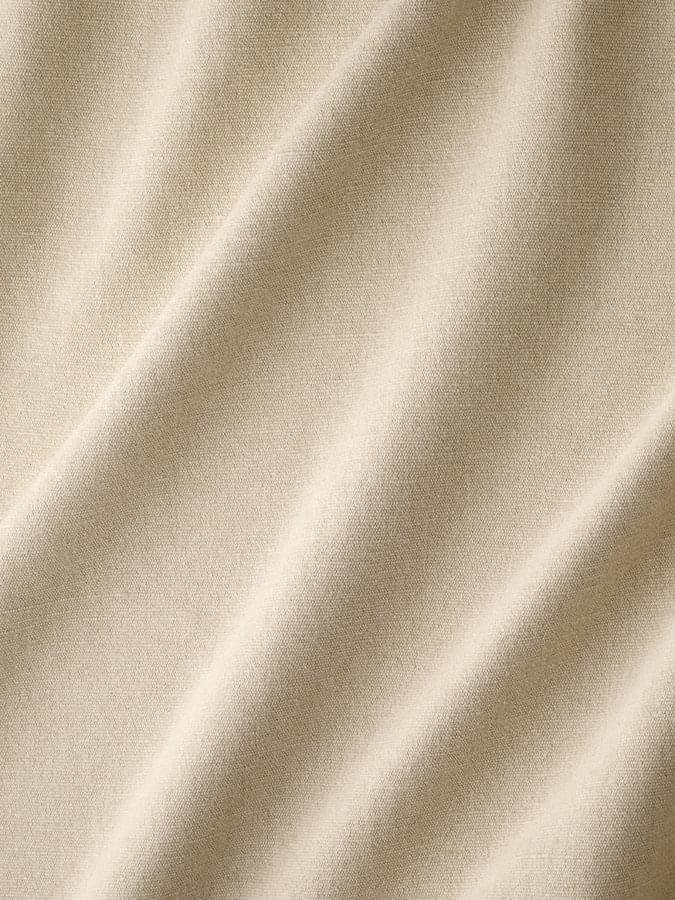 Antoine d'Albiousse (アントワーヌ・ダビュウス) インテリアファブリック コットンリネンドレープ無地  ビバーク リネン - BIVOUAC lave