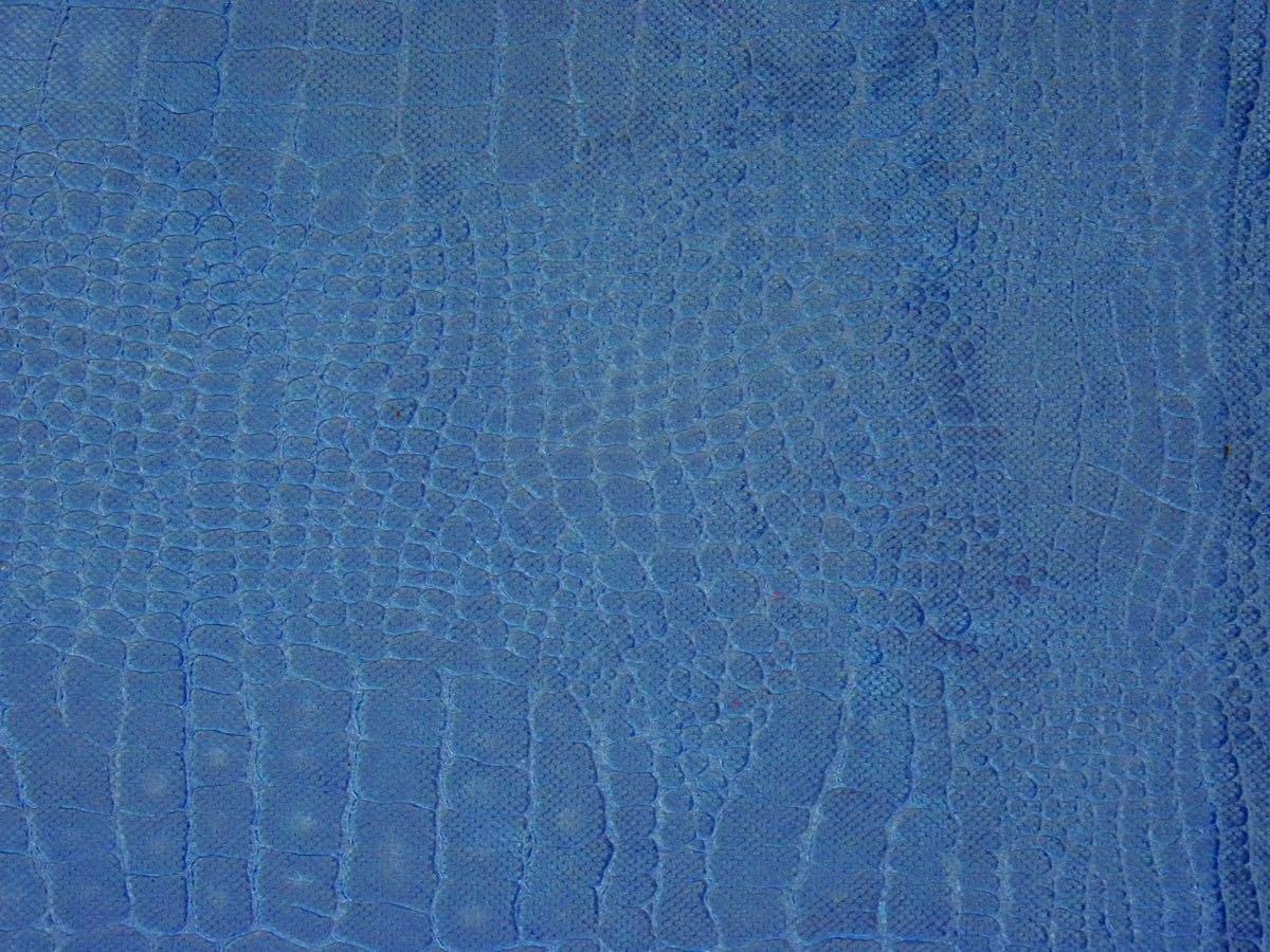 インテリアファブリック インテリアファブリック アニマルベルベット防炎 アマゾン ブルー - 145503999