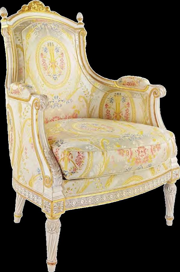 家具 ベルジェール ルイ16世 ヨーロッパブナ BE1233 - 146472970