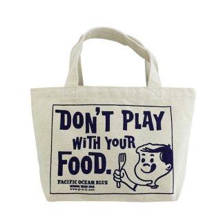 Don't Play ランチトート (Natural)