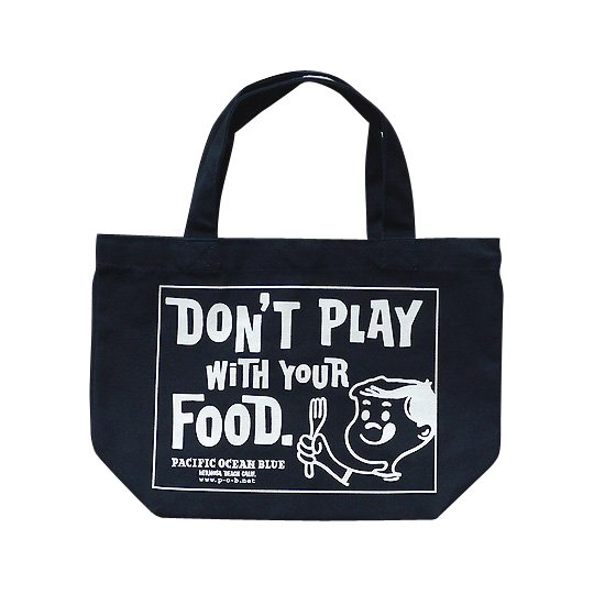 Don't Play ランチトート (Navy)