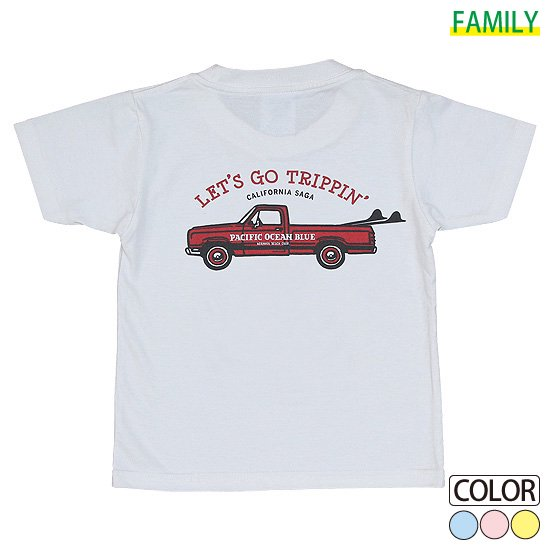 Kid's LET'S GO TRIPPIN'-Red CAR