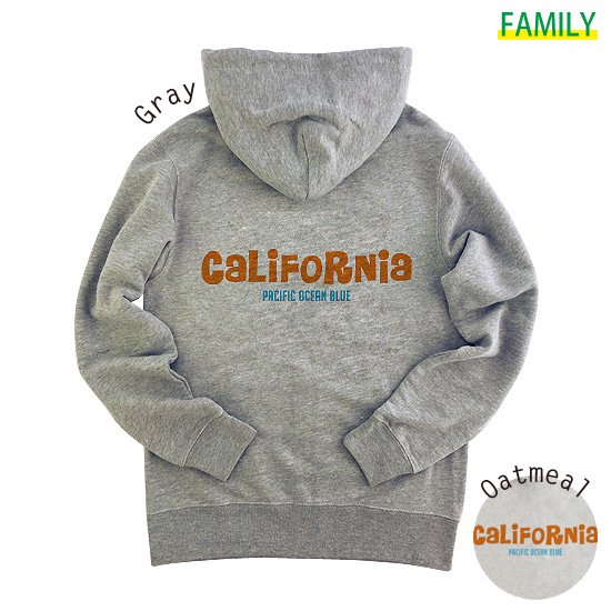 CaLiFoRNia ZIPパーカー