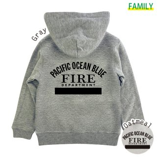 Kid's P.O.B. FIRE ZIPパーカー