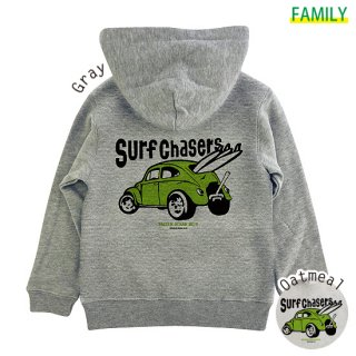 Kid's SURF CHASERS ZIPパーカー