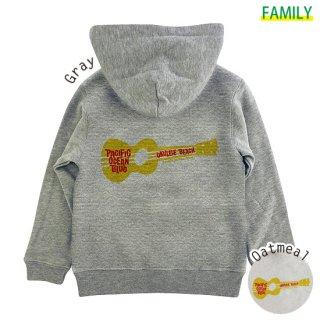 Kid's ウクレレ ZIPパーカー