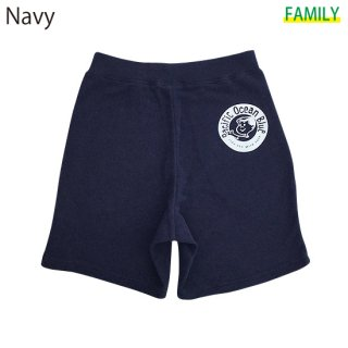 New Circle Logo ハーフパンツ (Navy, Gray)