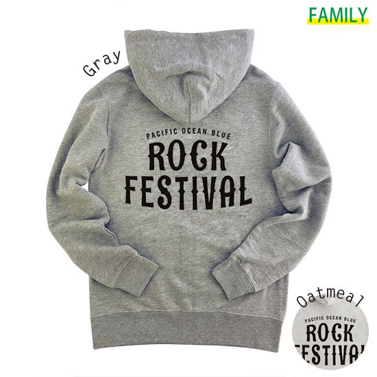 Rock Fes. ZIPパーカー