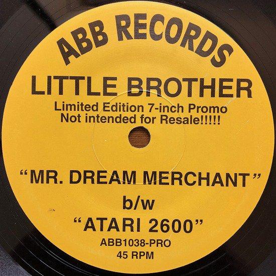 Little Brother  / Mr. Dream Merchant b/w Atari 2600