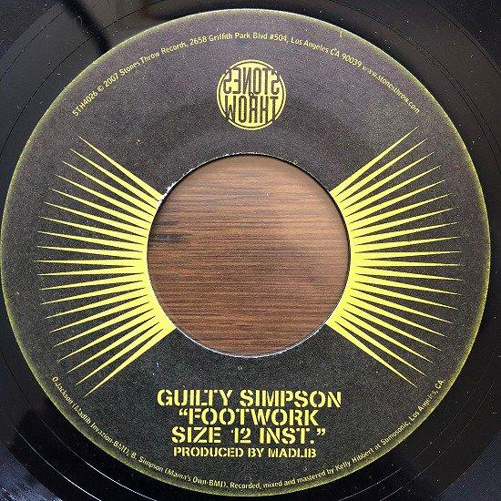 Guilty Simpson / Footwork