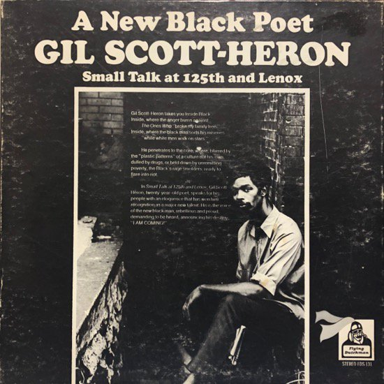 Gil Scott-Heron / Small Talk At 125th And Lenox