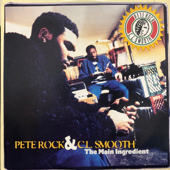 Pete Rock & C.L. Smooth / The Main Ingredient ( US Original )