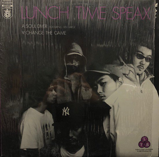 Lunch Time Speax / Soul Diver b/w Change The Game