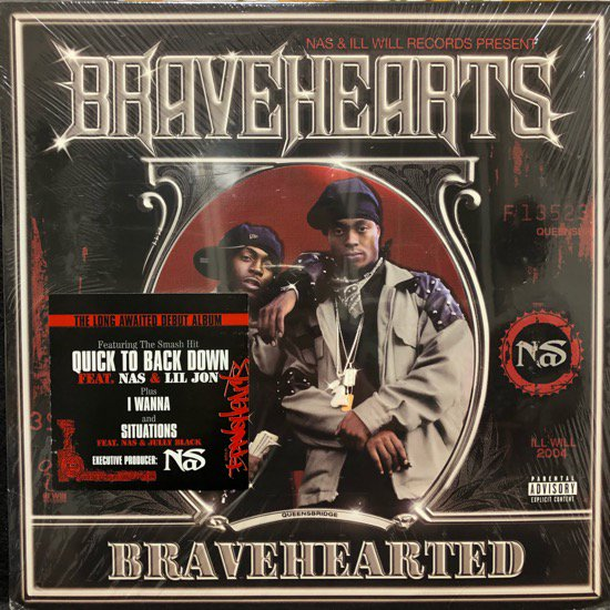 Nas Presents Bravehearts / Bravehearted ( Dead Stock 未開封 )