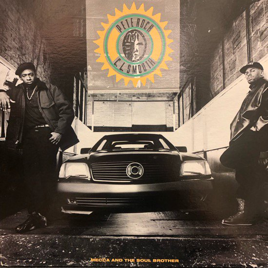 Pete Rock & C.L. Smooth / Mecca And The Soul Brother ( US Original )
