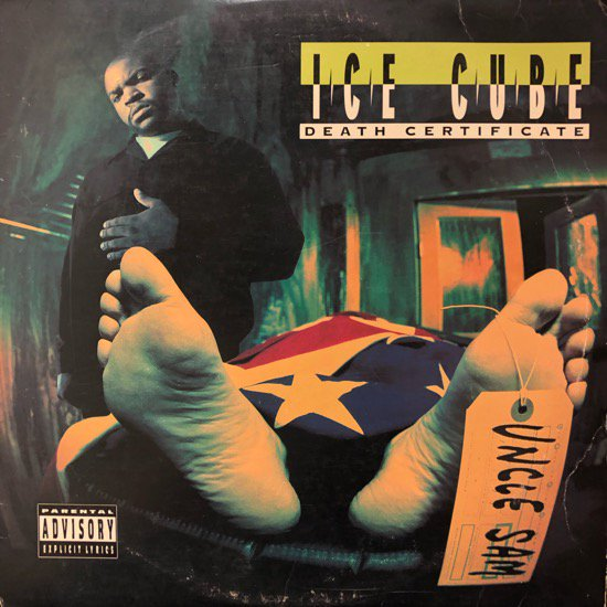 Ice Cube / Death Certificate ( US Original )
