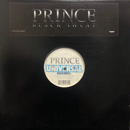 <img class='new_mark_img1' src='//img.shop-pro.jp/img/new/icons1.gif' style='border:none;display:inline;margin:0px;padding:0px;width:auto;' />Prince / Black Sweat b/w T&#257;mar Featuring Prince / Beautiful, Loved & Blessed