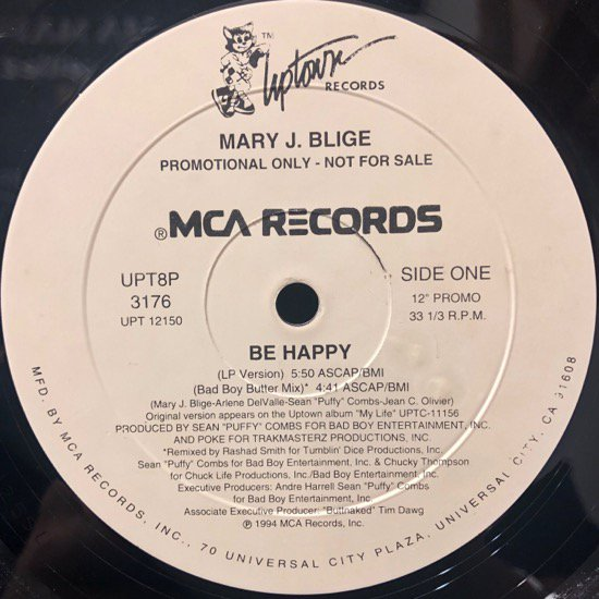 Mary J. Blige / Be Happy Remix