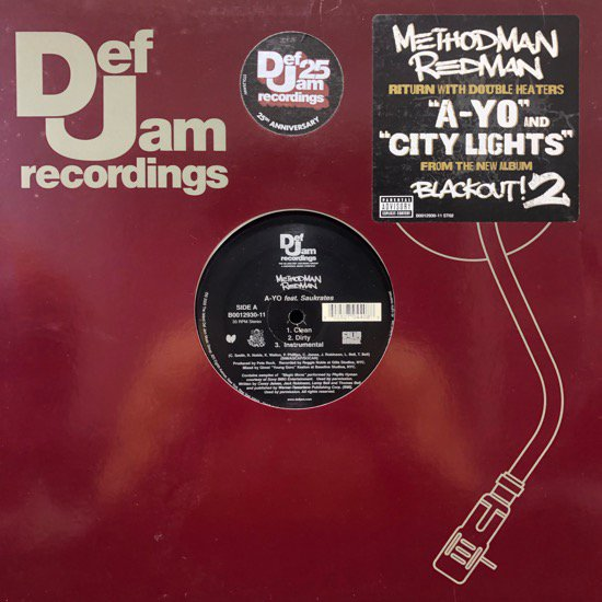 Method Man & Redman / A-Yo b/w City Lights