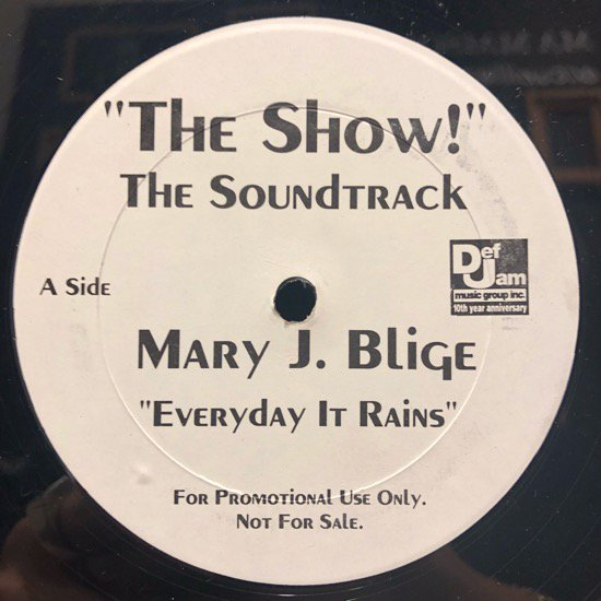 Mary J. Blige / Everyday It Rains b/w LL Cool J / Papa Luv It (promo)