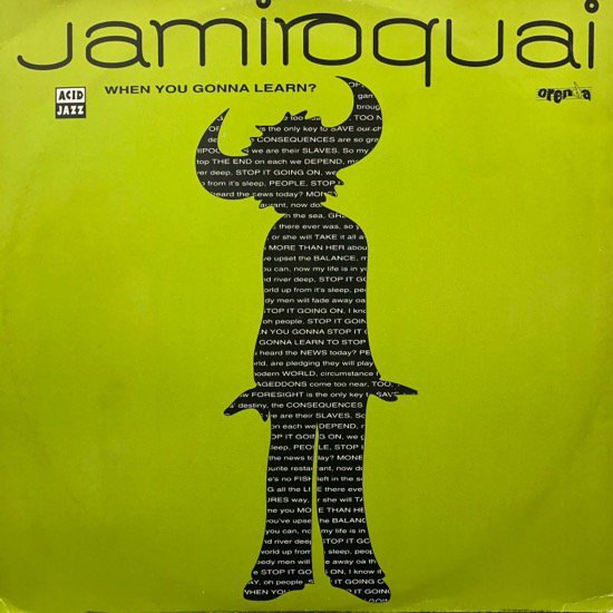 Jamiroquai / When You Gonna Learn