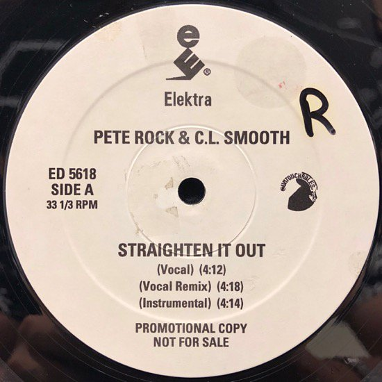 Pete Rock & C.L. Smooth / Straighten It Out ( The Vibes Mix )