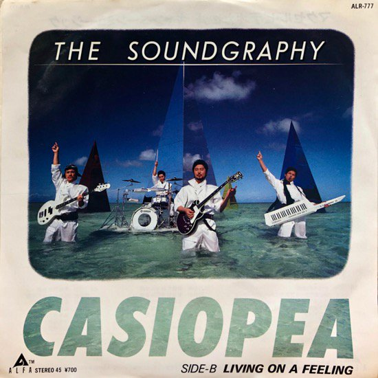 CASIOPEA / THE SOUNDGRAPHY / LIVING ON A FEELING