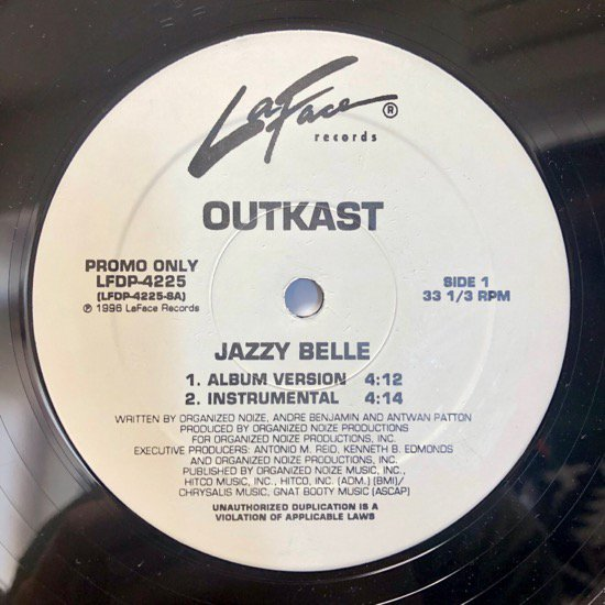 OUTKAST / JAZZY BELLE (PROMO)
