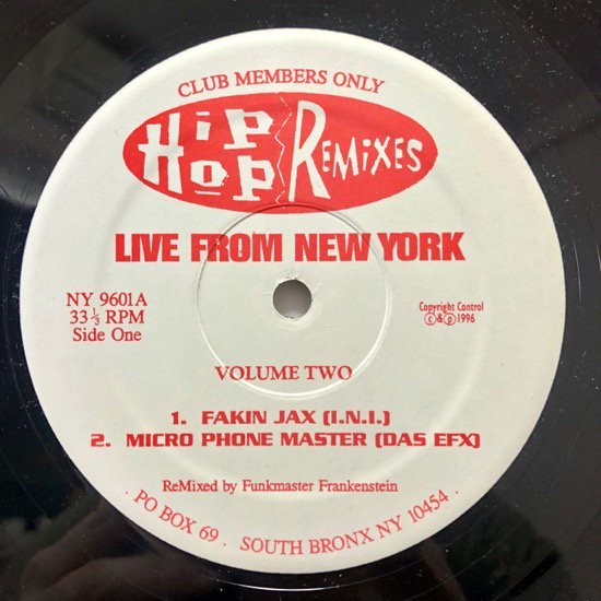 V.A / LIVE From NEW YORK VOLUME TWO