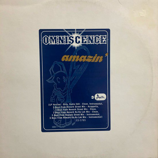 OMNISCENCE / AMAZIN' (US PROMO ONLY)