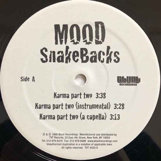 MOOD / SNAKEBACKS / SECRETS OF THE SAND