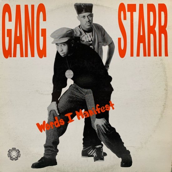 GANGSTARR / Words I Manifest ( US Original )
