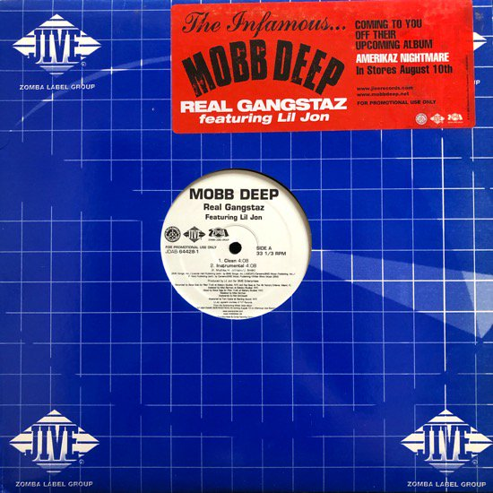 MOBB DEEP / REAL GANGSTAZ (PROMO)
