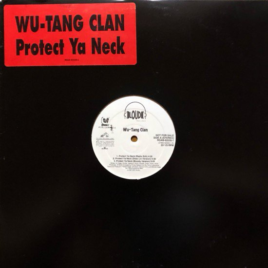 <img class='new_mark_img1' src='//img.shop-pro.jp/img/new/icons1.gif' style='border:none;display:inline;margin:0px;padding:0px;width:auto;' />WU-TANG CLAN / PROTECT YA NECK / METHOD MAN (PROMO)