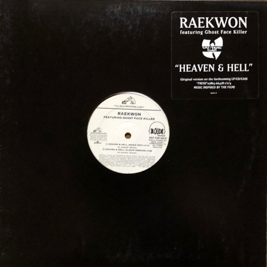 <img class='new_mark_img1' src='//img.shop-pro.jp/img/new/icons1.gif' style='border:none;display:inline;margin:0px;padding:0px;width:auto;' />RAEKWON / HEAVEN & HELL (PROMO)